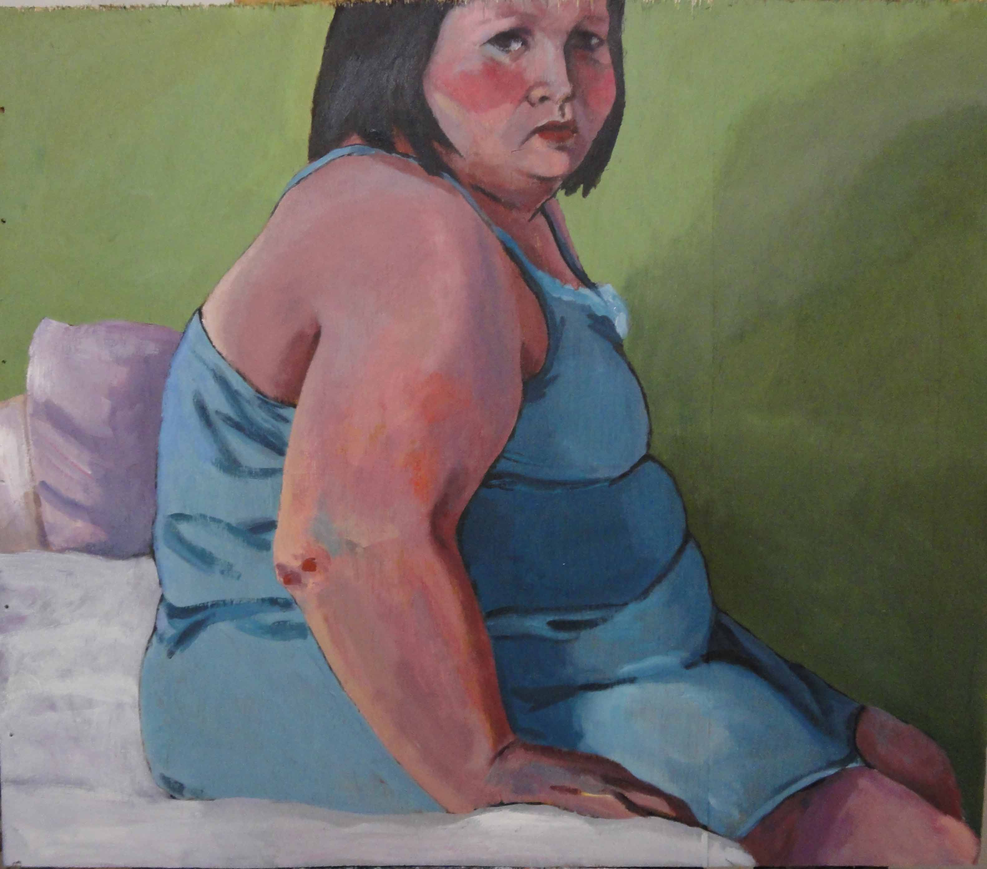 Beautifully Ugly; Hedyeh Khan'ali's Paintings