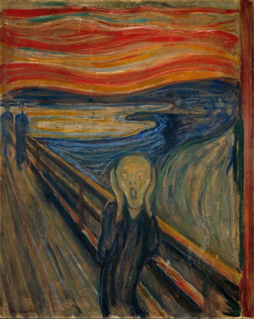 ادوارد مونک؛ دربارۀ هنرمند بودن